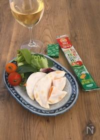 『パリパリとろーり♪トマトバジルチーズ』