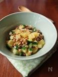 食感が楽しい!カリポリ納豆