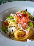 フライパン不要!タラコ&しらすの和風醤油バタースパゲティ