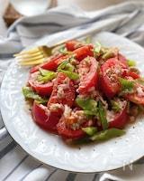 トマトとツナのシャキシャキ野菜マリネ