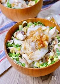 『鯖の塩焼きはお好きですか?♡『生姜薫る焼き鯖おろし丼』』