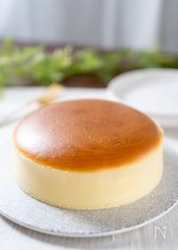 『ぷるふわ♪スフレチーズケーキ 生クリームなし』