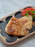 カジキマグロのガーリックバター焼き
