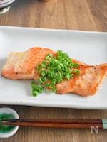 【フライパンでふっくら】鮭のガーリックマヨ焼き
