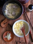 鶏とふんわり玉子のスープ♪