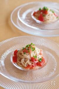 簡単♪冷製トマトそうめん@カッペリーニ風