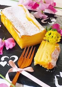 『スライスチーズで、生チーズケーキ』