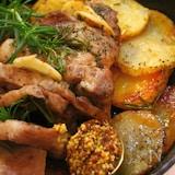 フライパンで簡単♡イタリアン豚肉ロースト