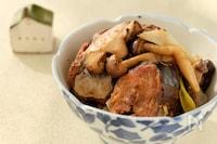 〈くらし薬膳〉きのこのサバ缶味噌炒め