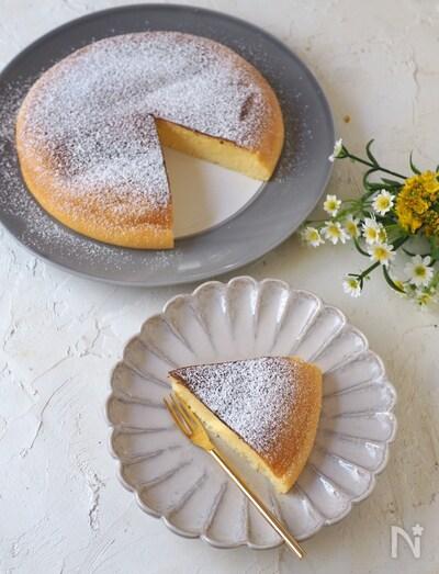 炊飯器で簡単 しゅわしゅわスフレチーズケーキ By きゃらきゃら レシピサイト Nadia ナディア プロの料理家のおいしいレシピ