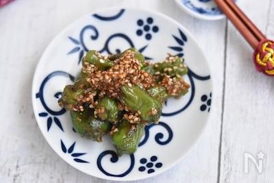 ししとうの味噌炒め 作り置き By 鈴木美鈴 レシピサイト Nadia ナディア プロの料理家のおいしいレシピ