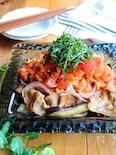 野菜をもりもり食べよう!夏野菜と豚バラのおかずサラダ