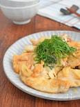 【薄切りで超時短】鶏むね肉ソテー(ガーリックバター醤油味)