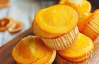 見た目もかわいい♡オレンジマフィン