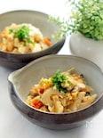 根菜たっぷりのツナ炒り豆腐(ストウブ料理)