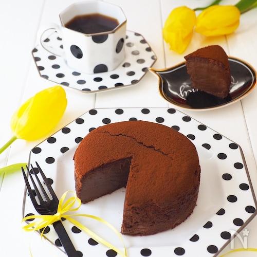 瞬溶け!生スフレチョコチーズケーキ
