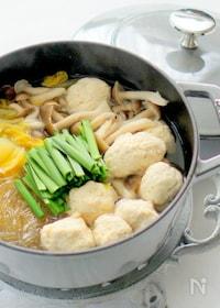 『鶏団子と春雨のスープ煮』
