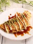 紅生姜のとん平焼き キャベツリメイク
