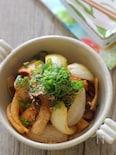 叉焼と焼き玉ねぎのピリ辛和え