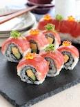まぐろのロール寿司