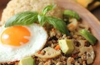 ピリッと美味しい夏ごはん!「ガパオライス」の基本レシピ&人気のアレンジレシピ