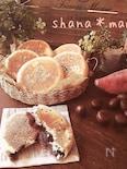 レンジ発酵♪フライパンで平焼きあんぱん♪