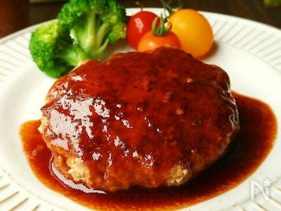 ハンバーグ レシピ 豆腐