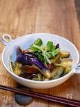 素麺つゆでパパッと「茄子の焼き浸し」