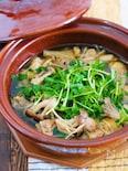 スープまで飲み干すうまさ♪『鶏肉ときのこのうまだし鍋』