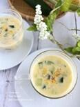 きゅうりのコーンスープ