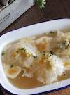 丸ごと新玉ねぎ煮のオニオングラタンスープ