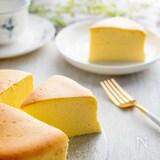 材料3つなのに美味! 簡単スフレチーズケーキの作り方