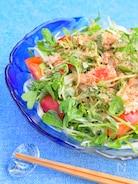 簡単絶品♪豆苗のツナカレーサラダ