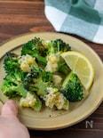 フライパンで簡単♪焼きブロッコリーのねぎ塩炒め