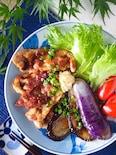 【主菜副菜コレ一品で完成】とろとろ茄子と豚肉のしょうが焼き