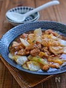 *白菜と鶏肉のとろーり煮*