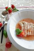 【レンジのみ】鶏むね肉のイタリアンスープ仕立て