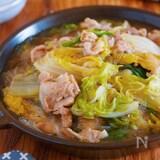 重ねて放置♪包丁不要『豚バラ白菜とはるさめの上海風とろみ煮』