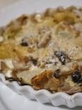 豚バラ肉と白菜の豆乳ミルフィーユの翌々日リメイク:グラタン