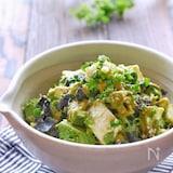 アボカドとモッツァレラチーズの和風ごま海苔サラダ