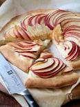 リンゴとチーズのスイートピザ。