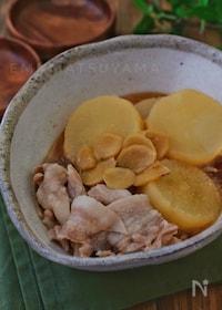 『調味料一律大さじ2!*大根と豚バラの生姜煮*』
