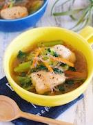 別茹で不要♪『鶏むね肉と春雨の具沢山おかずスープ』