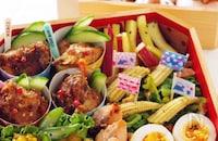 秋の行楽弁当シリーズ②おかずを大きいお弁当箱にきれいに詰めるコツ