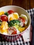 ブロッコリーと卵のデリ風サラダ