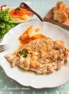しっとりジューシィ * 鶏むね肉の塩麹ハーブステーキ