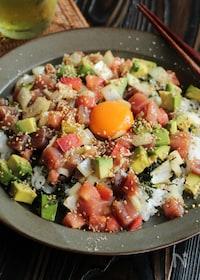 『野菜たっぷり!海鮮丼(動画あり)』