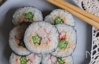 オクラとツナマヨのサラダ巻き寿司
