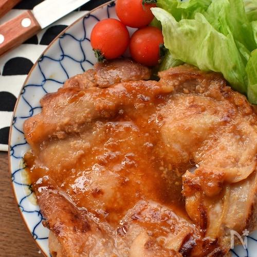 漬けて焼くだけ♡肉汁たっぷり♡鶏もも肉の甘味噌焼き♡