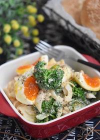 『ブロッコリーと卵のオーロラデリ風サラダ』